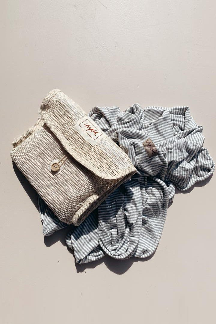Chekoh Cotton Mesh Wash Bag
