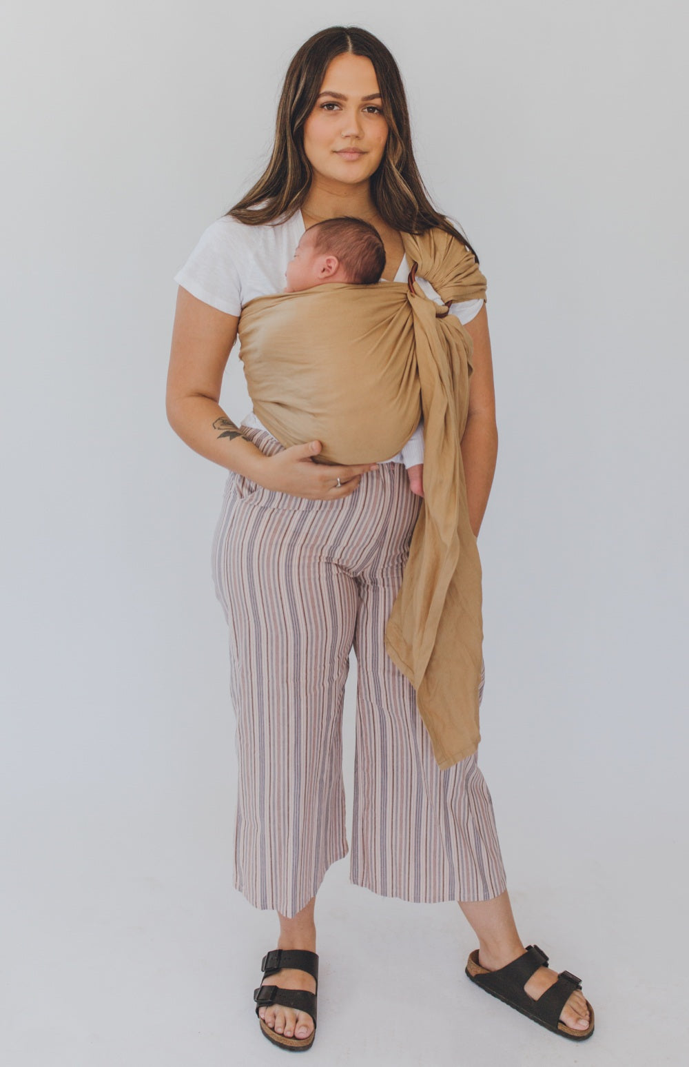 australia's best camel chekoh baby sling carrier for newborn, infants and toddlers