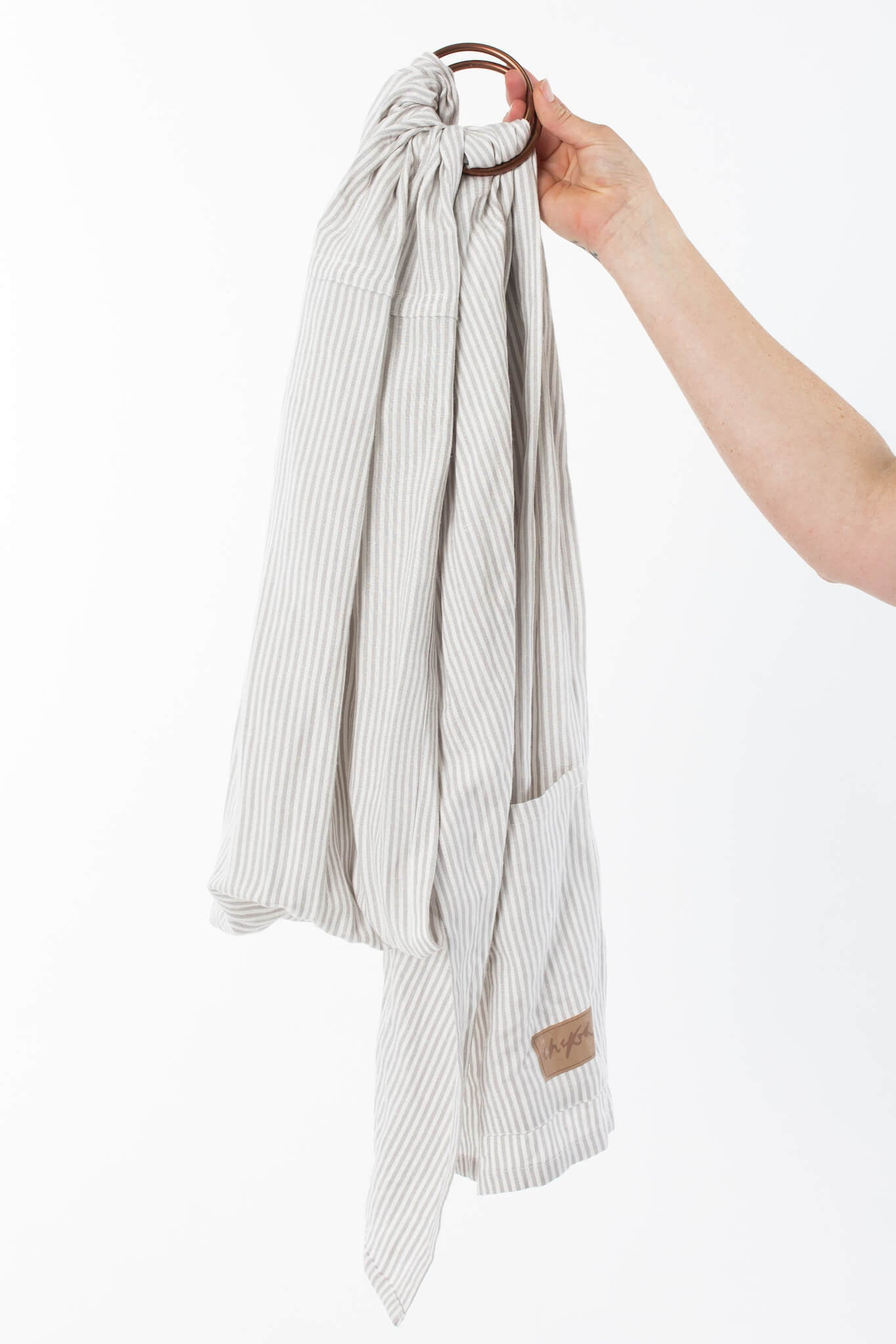 Ring Slings - Grey Stripe Ring Sling