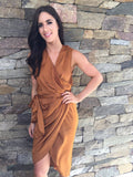 The Style Insider | All Rust Dress