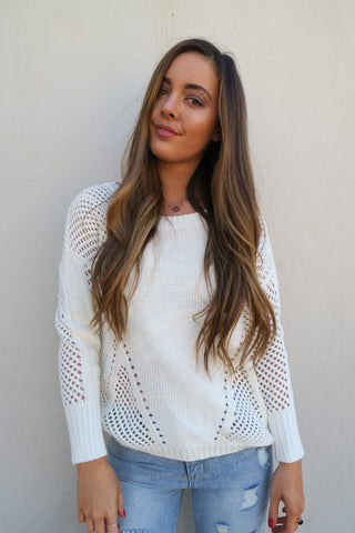 The Style Insider | Samy Knit White