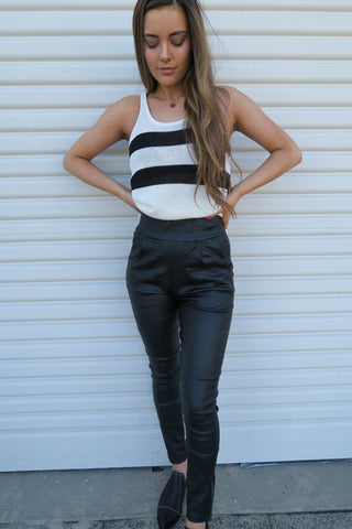 The Style Insider | Jenna Pants Black