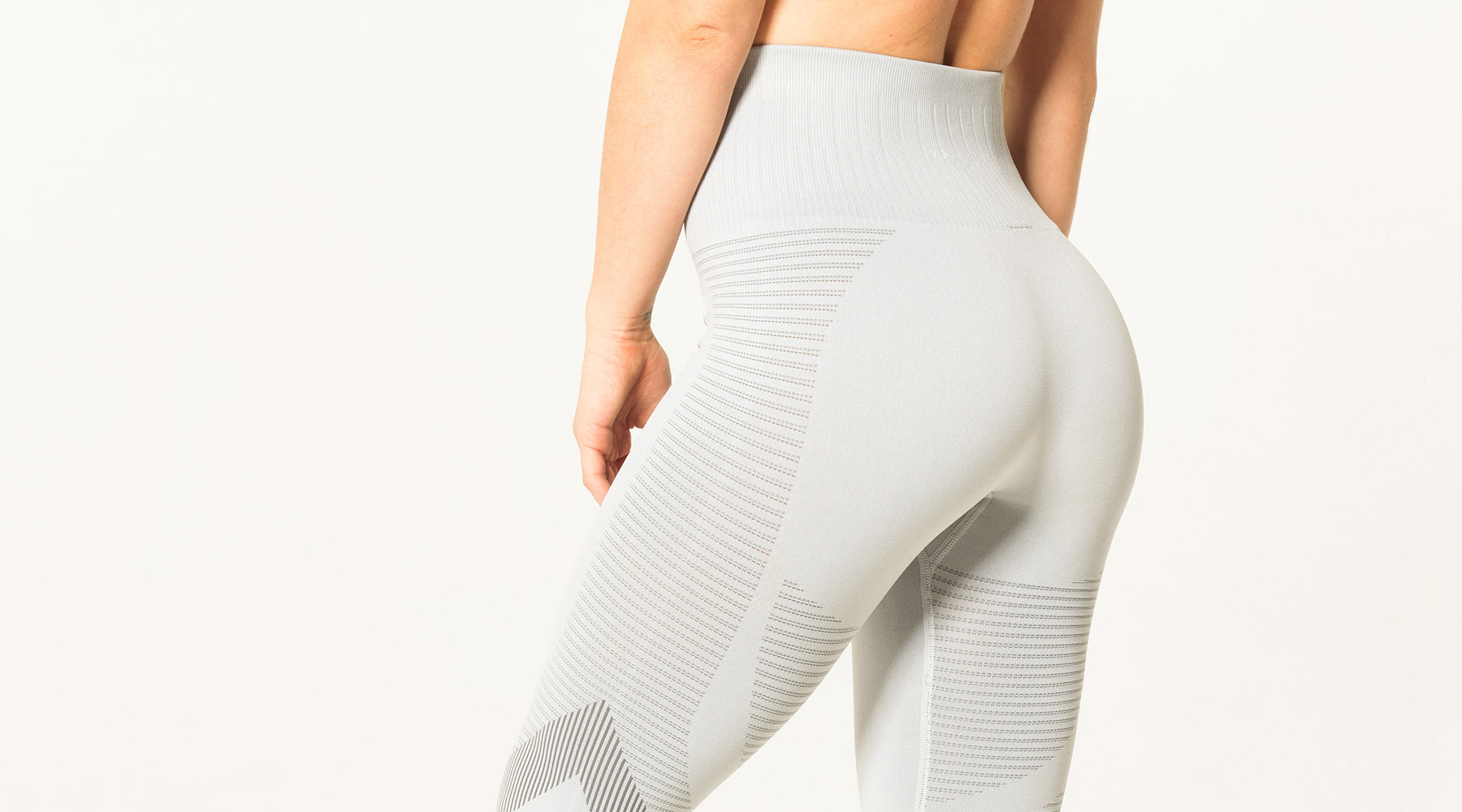 V3 Apparel seamless squat proof elevate leggings grey