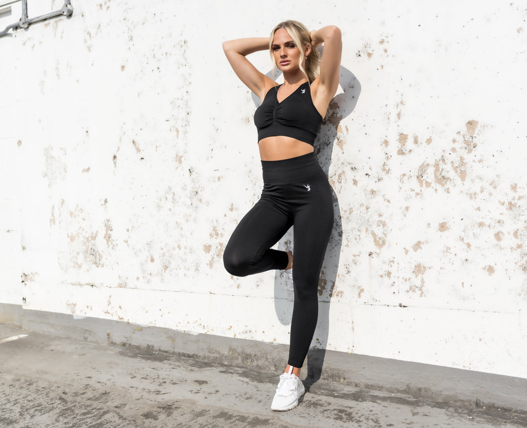 Womens seamless squat proof leggings gym workout tights V3 Apparel