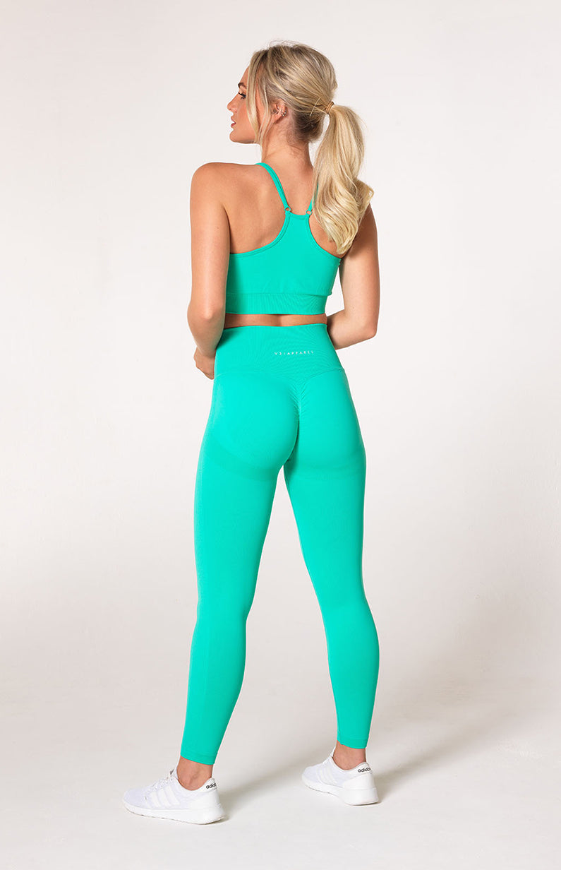 Define Seamless Scrunch Set - Teal