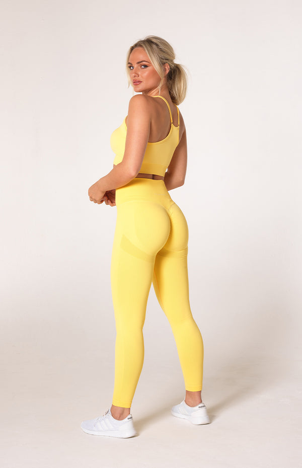 Define Seamless Scrunch Set - Lemon
