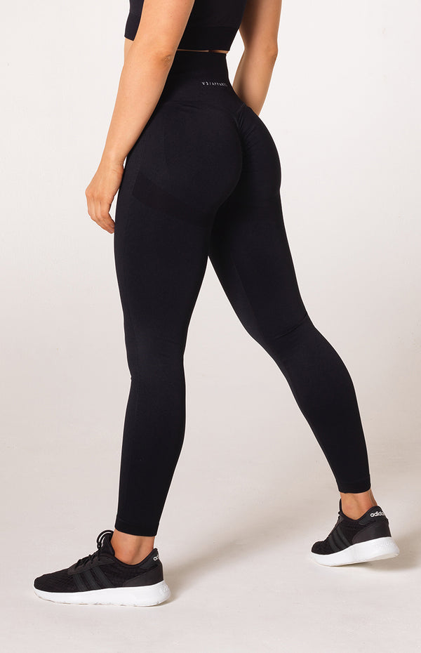 Define Seamless Scrunch Leggings - Black