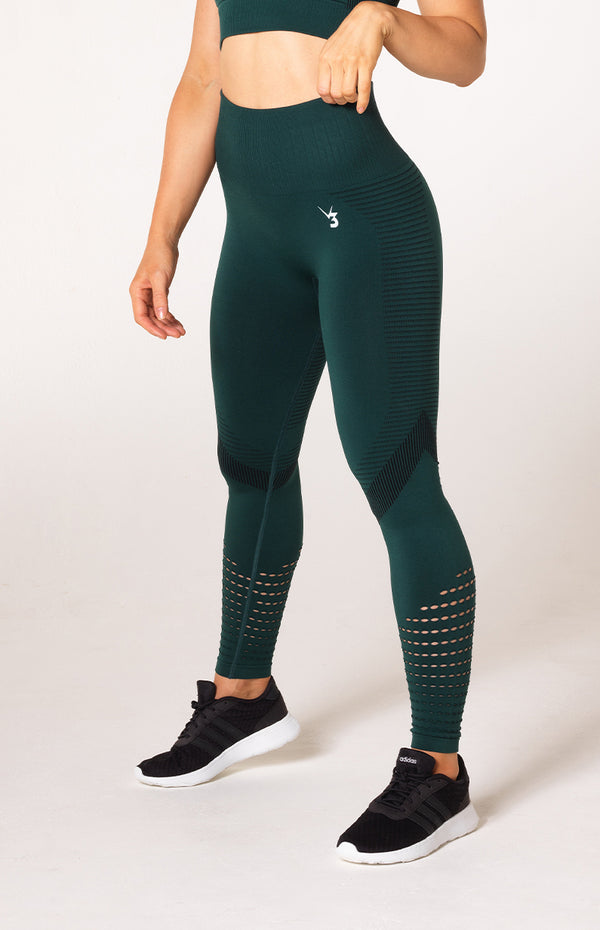 Elevate Seamless Leggings - Emerald