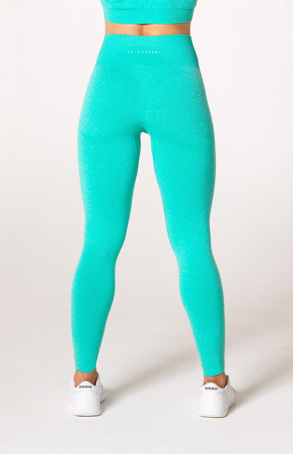 Uplift Seamless Leggings - Mint Marl