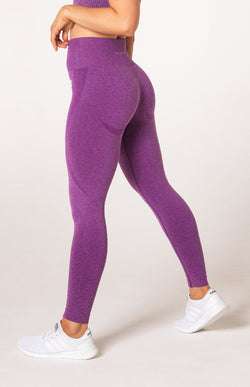 Uplift Seamless Leggings - Purple Marl