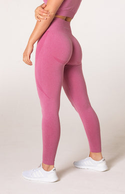 Uplift Seamless Leggings - Pink Marl