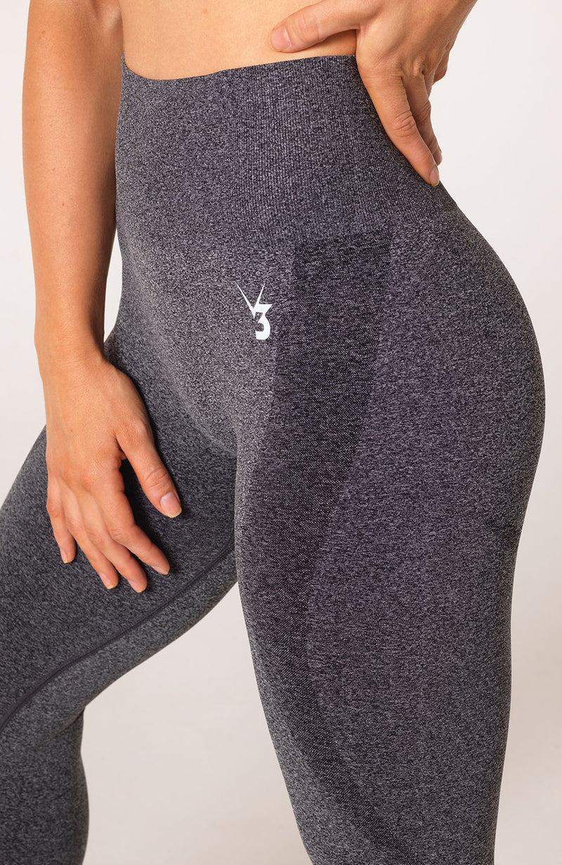 Uplift Seamless Leggings - Charcoal Marl