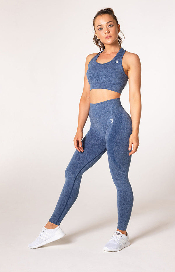 Uplift Seamless Set - Navy Marl