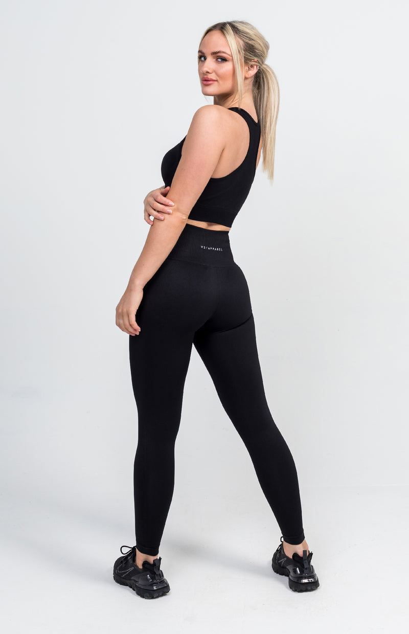 Curve Seamless Set - Black