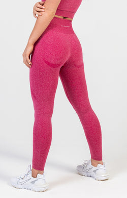 Uplift Seamless Leggings - Pink Berry Marl