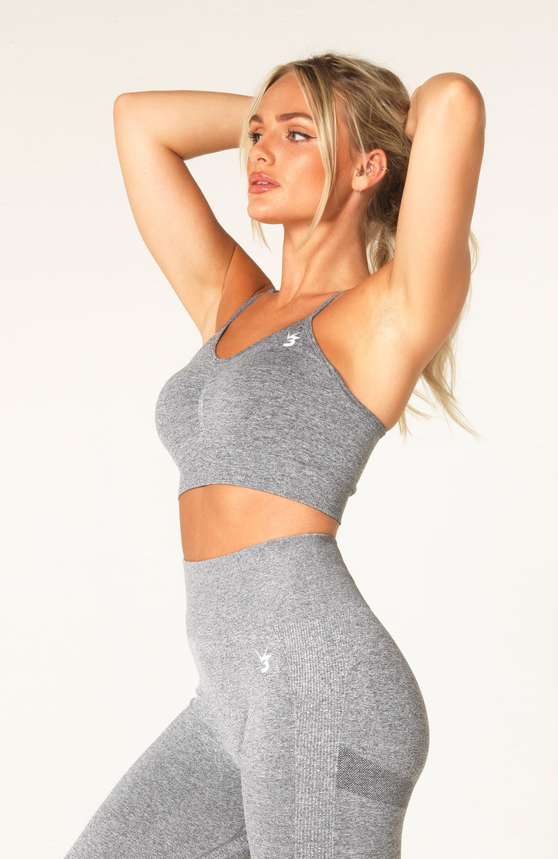 Define Seamless Scrunch Set - Grey Marl