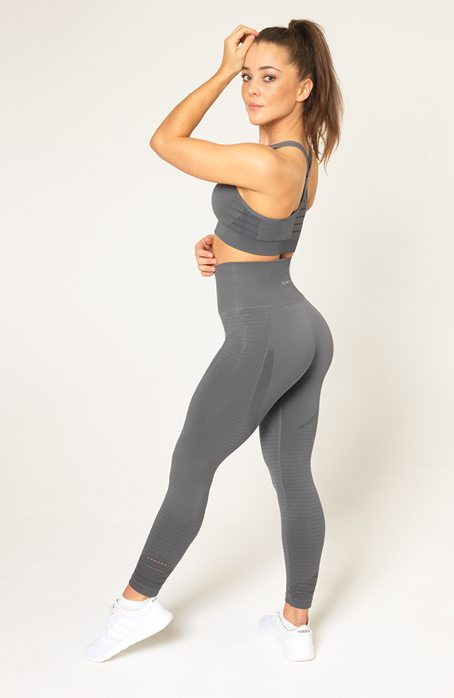Contour Seamless Leggings - Grey