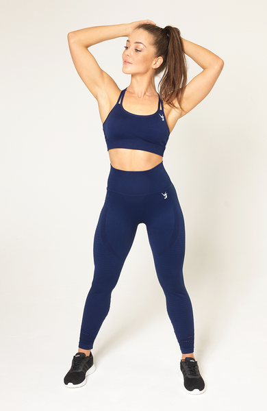 Contour Seamless Set - Navy