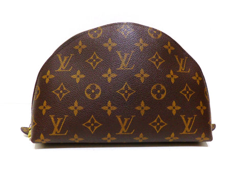 Louis Vuitton, Trousse de toilette DEMI RONDE en toile monogram