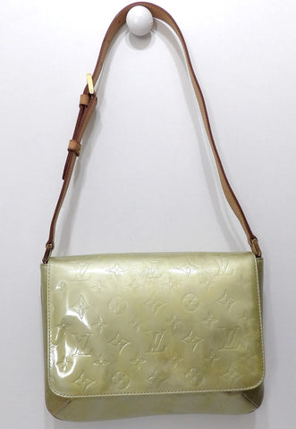 Louis vuitton, Sac Thompson street en cuir verni monogram