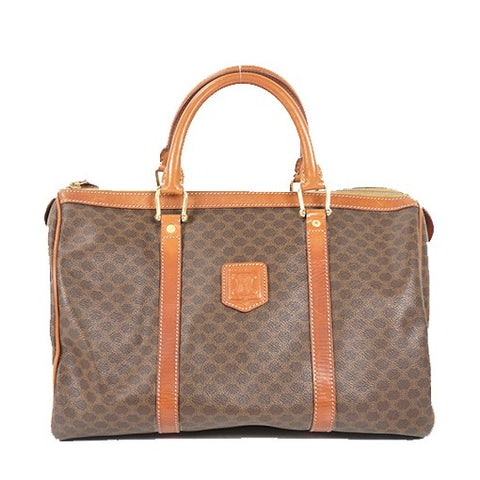 Céline, Sac boston 35, en toile monogram macadam