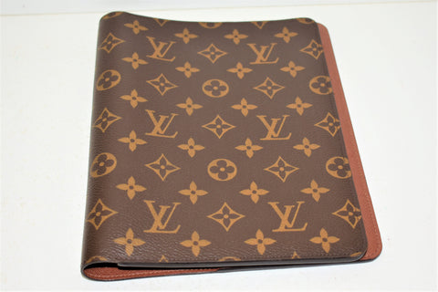 Louis Vuitton, Couverture Agenda de bureau en toile monogram