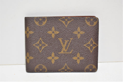 Louis vuitton, Porte-cartes en toile enduite monogram