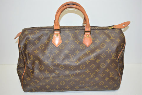 Louis Vuitton, Sac speedy 40 en toile monogram