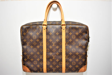 Louis Vuitton, Sac porte documents, en toile enduite monogram