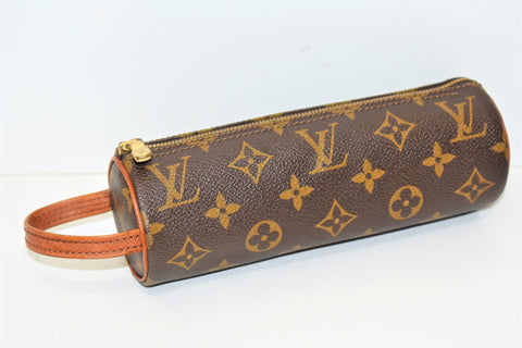 Louis Vuitton, Trousse ronde, en toile monogram
