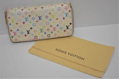 Louis Vuitton, Portefeuille compagnon ZIPPY, en toile enduite monogram multicolor