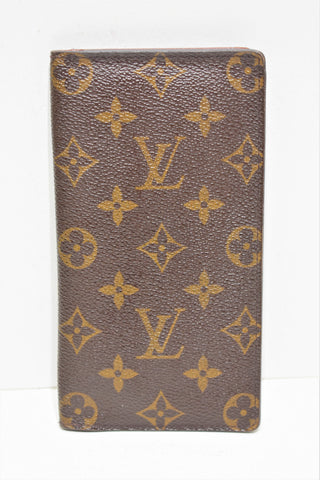 "Louis Vuitton, "" Portefeuille long "" en toile enduite monogram"