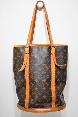 Louis Vuitton, Sac Bucket GM en toile monogram