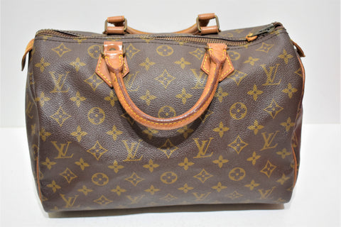 Louis Vuitton, Sac speedy 30 en toile monogram, vintage
