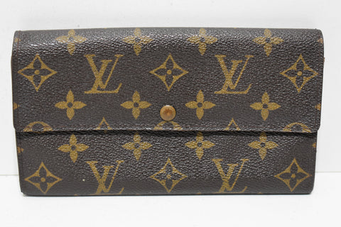 Louis Vuitton, Portefeuille SARAH, en toile monogram