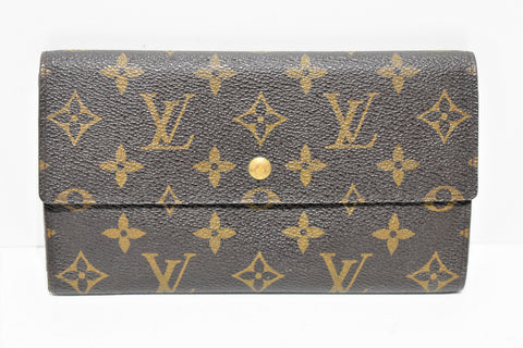 Louis Vuitton, Portefeuille INTERNATIONAL, en toile enduite monogram