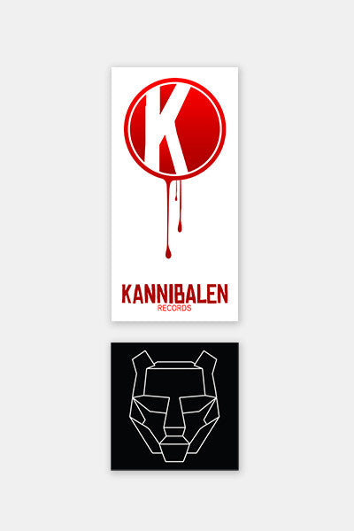KANNIBALEN + BTSM - Stickers Pack