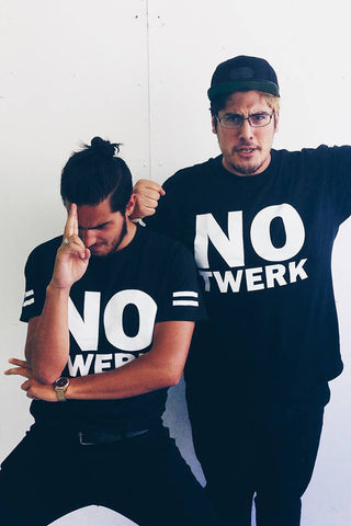 APASHE - No Twerk Tee - Black