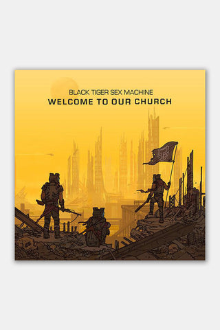Welcome To Our Church wall prints - signed