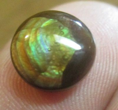 Freeform Natural Multicolored MEXICAN Fire Agate Gemstone 10x9