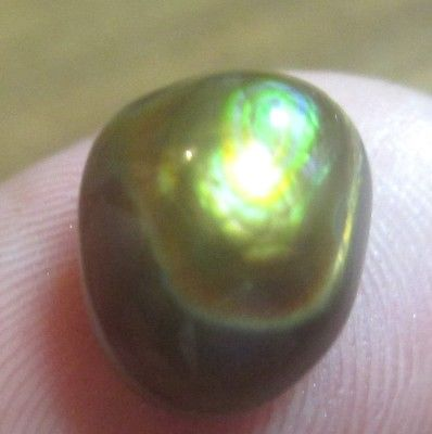 ALL Natural Freeform MEXICAN Fire Agate, GEM stone.  Multicolored 12x9....,