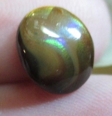 Freeform Natural Multicolored MEXICAN Fire Agate Gemstone 9x7