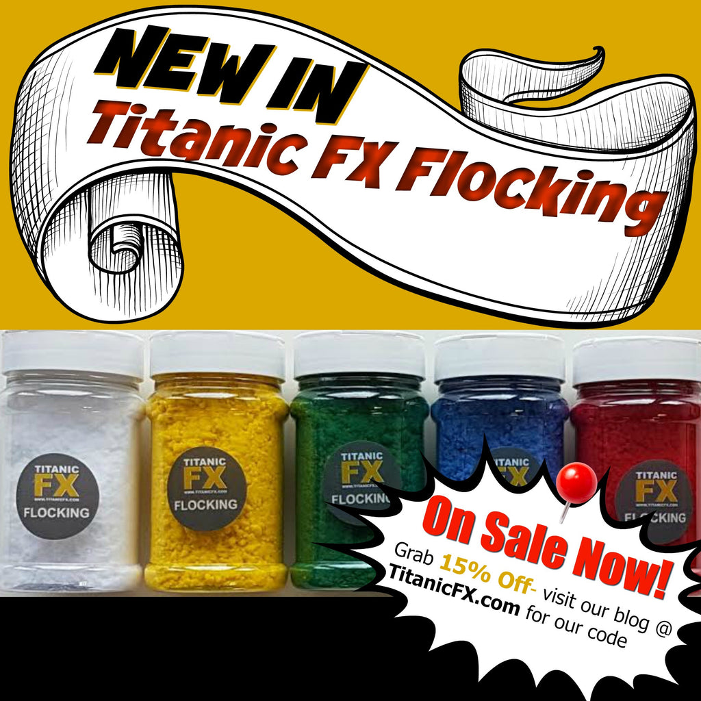 Now Launching NEW Titanic FX Flocking