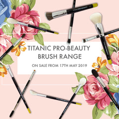 Titanic Pro-Beauty Brush Range