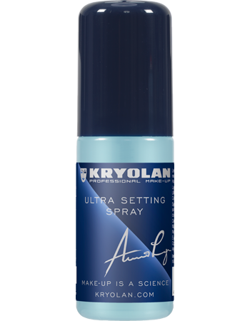 Kryolan - Ultra Setting Spray - 50ml, Setting Sprays, Kryolan, Titanic FX Store, Titanic FX Store, Prosthetic, Makeup, MUA, SFX, FX Makeup, Belfast, UK, Europe, Northern Ireland, NI