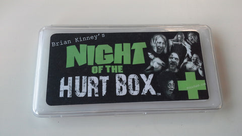 Brian Kinney's HurtBox of the dead : Night Of The HurtBox, Brian Kinneys Hurt Box, Full Slap FX, Titanic FX Store, Titanic FX Store, Titanic Creative, Prosthetic, Makeup, MUA, SFX, FX Makeup, Belfast, UK, Europe, Northern Ireland, NI