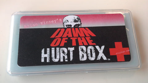 Brian Kinney's HurtBox of the dead : Dawn of the HurtBox, Brian Kinneys Hurt Box, Full Slap FX, Titanic FX Store, Titanic FX Store, Titanic Creative, Prosthetic, Makeup, MUA, SFX, FX Makeup, Belfast, UK, Europe, Northern Ireland, NI
