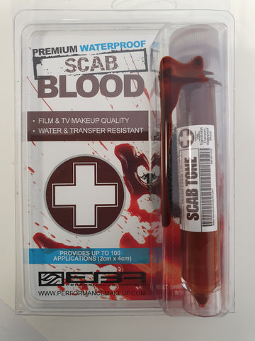 CASUALTY CORNER - European Body Art - Transfusion Blood Line - Scab - Vial Size (CC6)