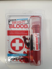 CASUALTY CORNER - European Body Art - Transfusion Blood Line - Bright Blood - Vial Size (CC7)