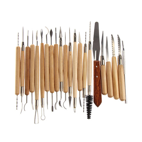 Sculpting / Carving Tool Kit (22 piece), Tools, Titanic FX, Titanic FX, Titanic FX Store, Prosthetic, Makeup, MUA, SFX, FX Makeup, Belfast, UK, Europe, Northern Ireland, NI